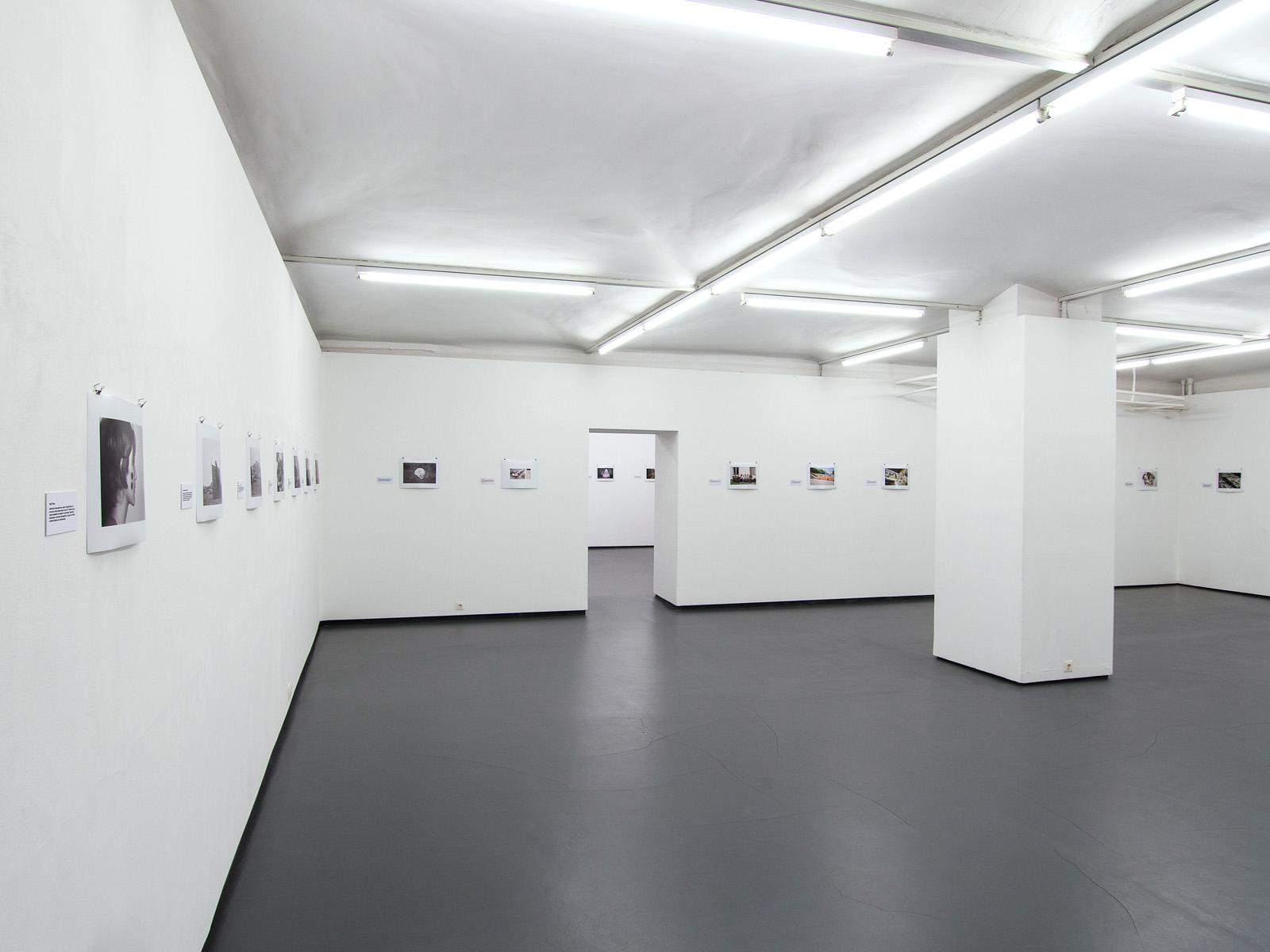 WERKSCHAU XVIII - INGEBORG STROBL   Ausstellungsansicht Fotogalerie Wien