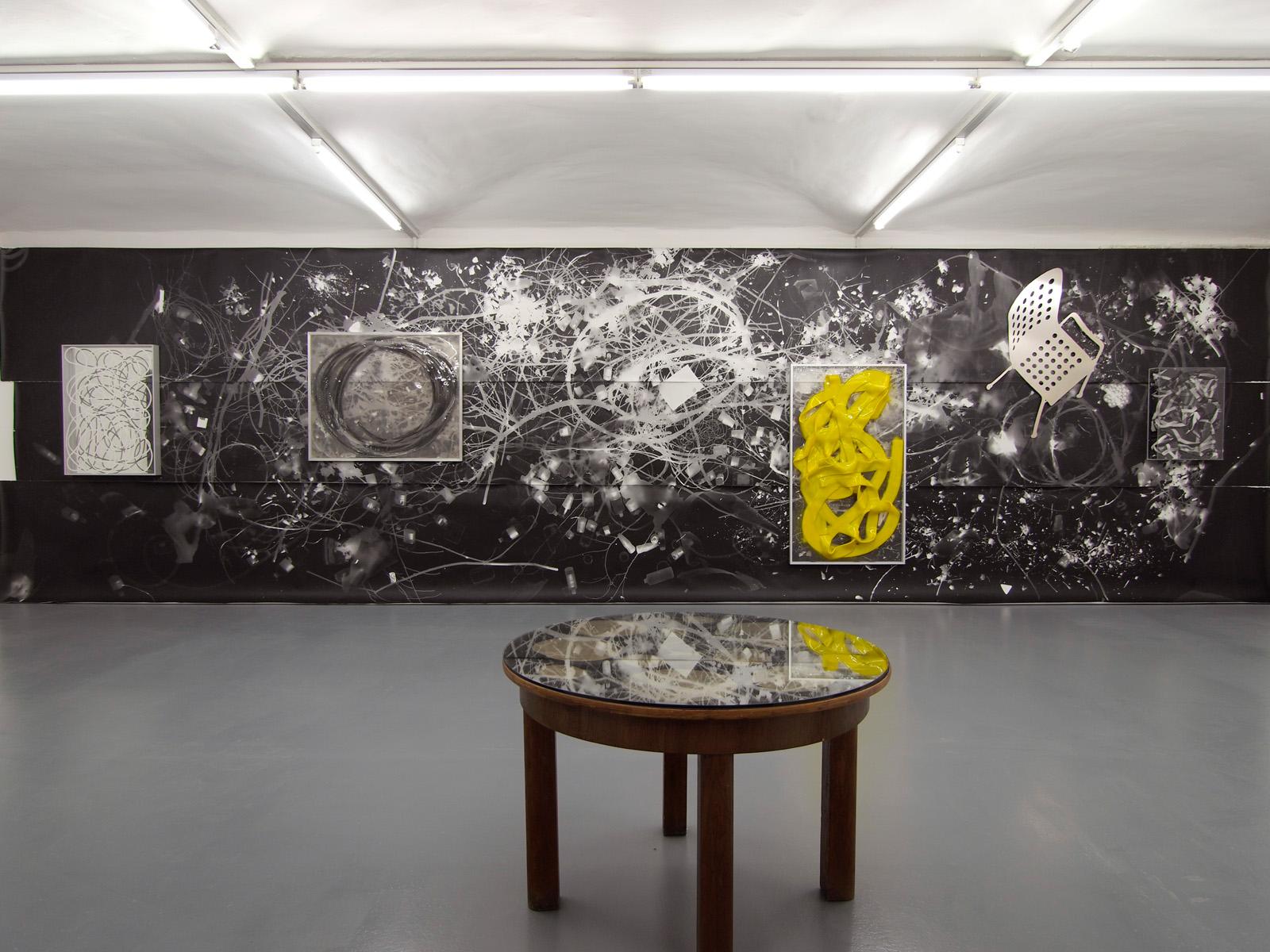 WERKSCHAU XVI - HANS KUPELWIESER Ausstellungsansicht Fotogalerie Wien