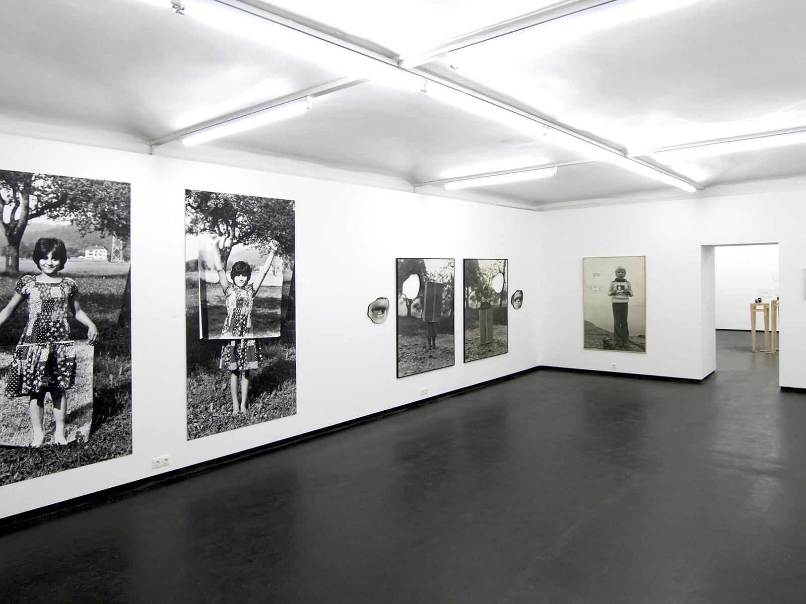 WERKSCHAU XII - GOTTFRIED PECHTOLD Ausstellungsansicht Fotogalerie Wien