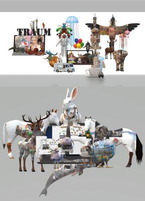 PROPELLER II Evi Jägle aus: Rhizomatische Verwärtigung, 2021, 3D-Animation