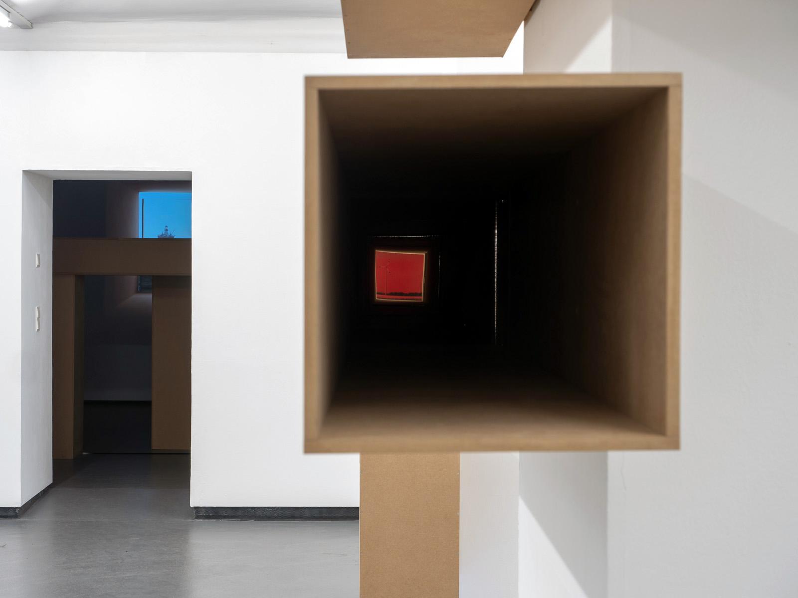 SOLO XI - Peter Hoiss  Ausstellungsansicht Fotogalerie Wien