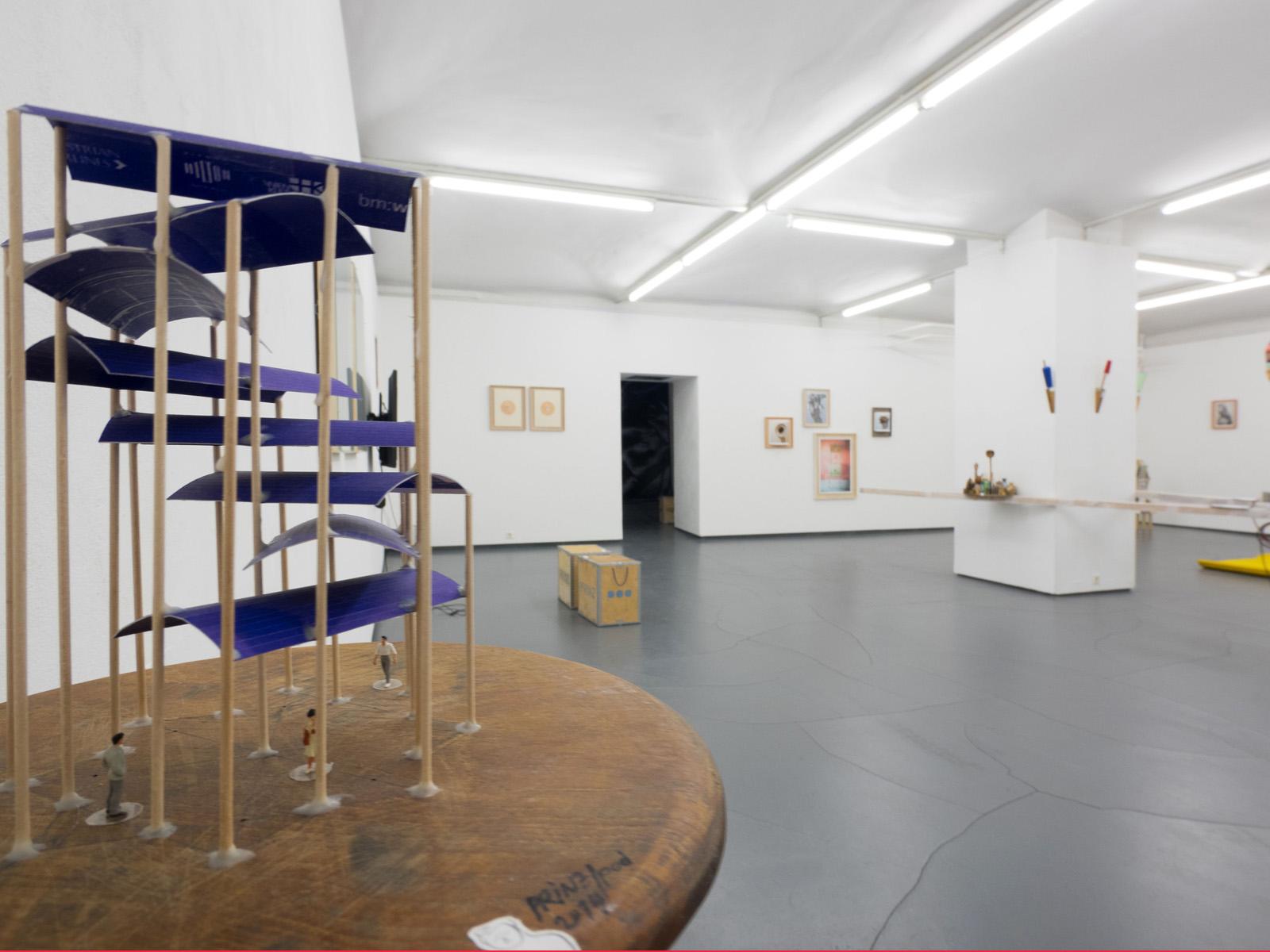 WERKSCHAU XX - PRINZGAU/podgorschek  Ausstellungsansicht Fotogalerie Wien