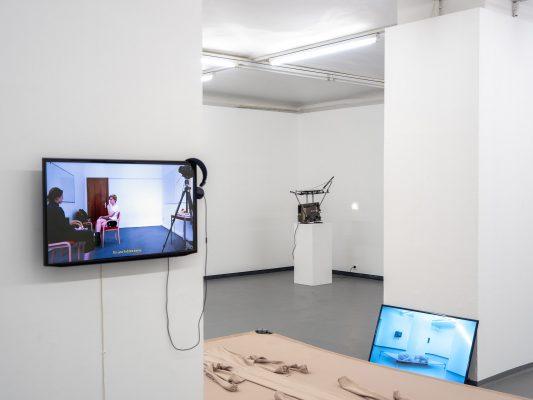 RITUALE IV  Ausstellungsansicht Fotogalerie Wien