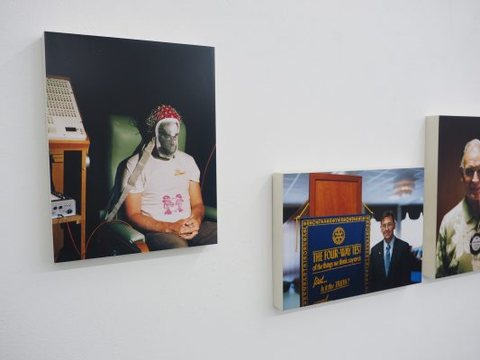 BIOGRAPHIE III - Ausstellungsansicht Fotogalerie Wien