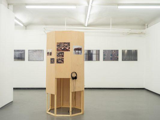 ZUKUNFTSMUSIK Ausstellungsansicht Fotogalerie Wien