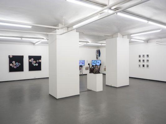 PROPELLER II Ausstellungsansicht Fotogalerie Wien